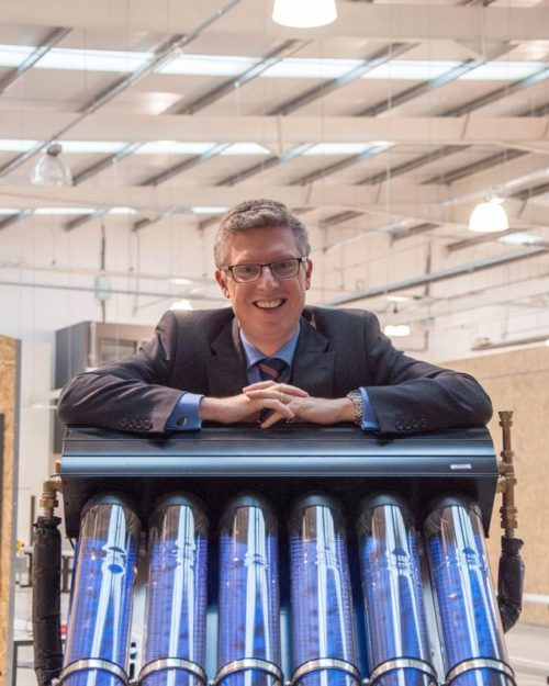 Alex Hayes, principal of University Technical College Norfolk, based in Norwich. - Credit: Supplied